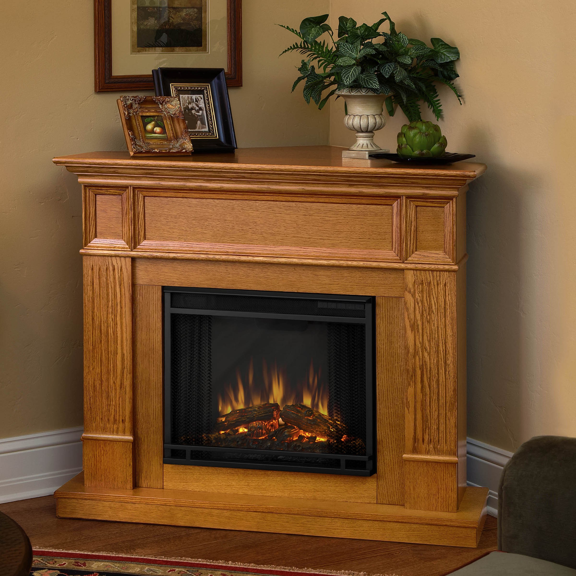 Electric Fireplace Heaters Home Depot: Home Depot Hack Using White Lime Wax