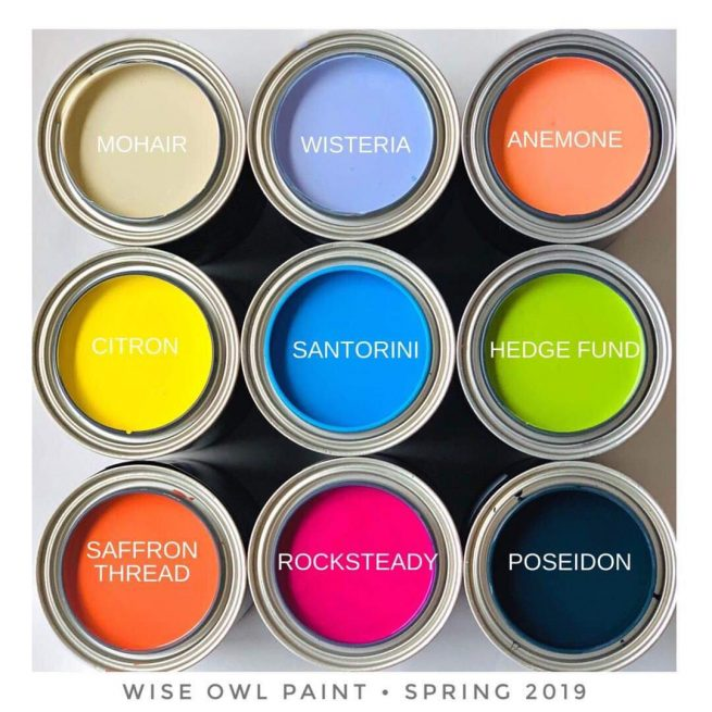 wise oil paints colors for spring 2019