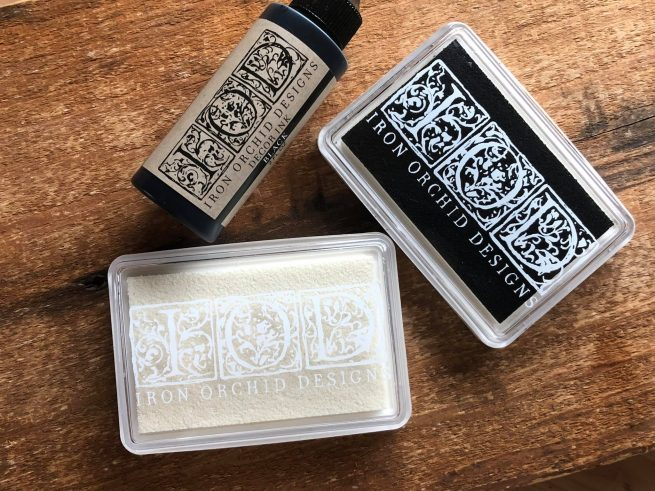 Iron Orchid Designs tools stamp pad and ink